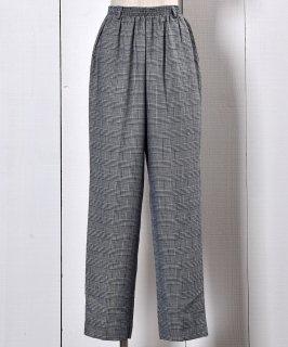 古着Glen Check Easy Pants | グレン チェック イージーパンツ  古着のネット通販 古着屋グレープフルーツムーン