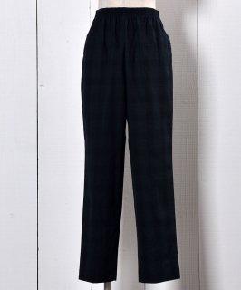 古着Tartan Check Easy Pants | タータン チェック イージーパンツ  古着のネット通販 古着屋グレープフルーツムーン
