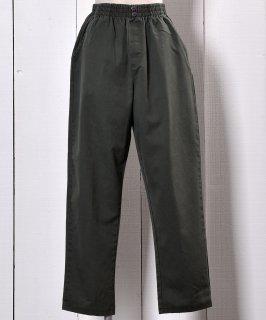 古着Button Olive Easy Pants | ボタン付き オリーブ イージーパンツ  古着のネット通販 古着屋グレープフルーツムーン