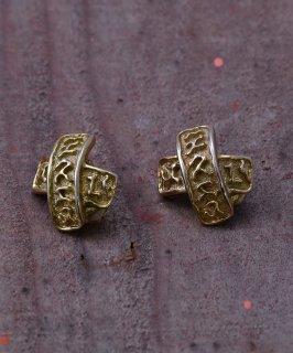古着 Made in Europe X Motif Earring|ヨーロッパ製 Xモチーフ イヤリング 古着のネット通販 古着屋グレープフルーツムーン