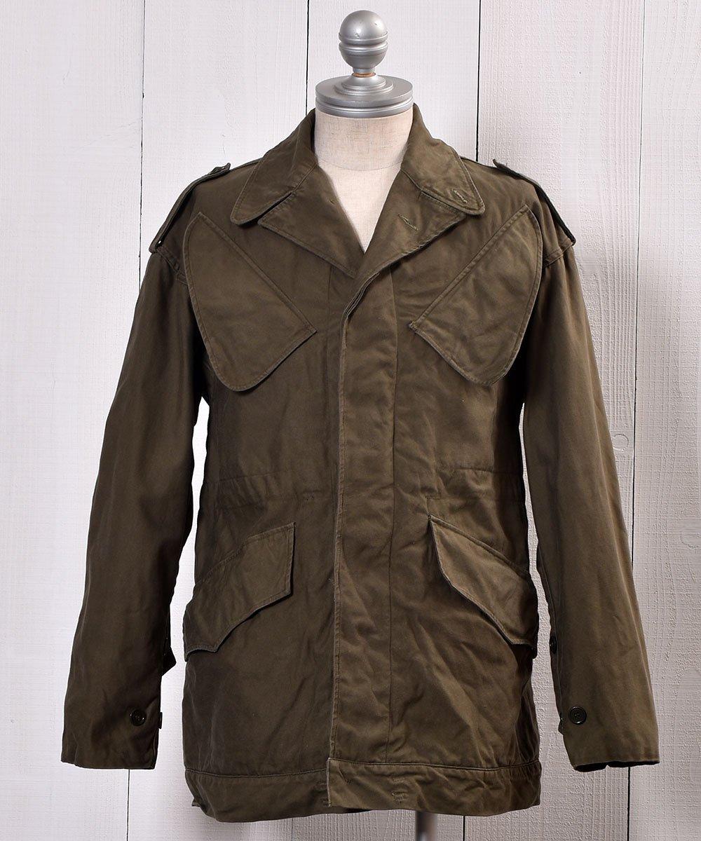 古着 70's | KL H.V. PUIJENBROEK Military Field Heavy Jacket| ユーロミリタリー | オランダ軍 ミリタリー フィールドジャケット | 74年製  古着 ネット 通販 古着屋グレープフルーツムーン