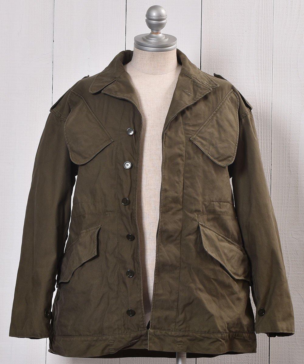 70's | KL H.V. PUIJENBROEK Military Field Heavy Jacket| ユーロミリタリー | オランダ軍 ミリタリー フィールドジャケット | 74年製 サムネイル