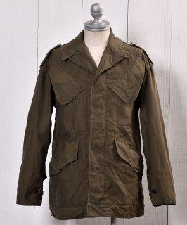 古着70's | KL H.V. PUIJENBROEK Military Field Heavy Jacket| ユーロミリタリー | オランダ軍 ミリタリー フィールドジャケット | 74年製  古着のネット通販 古着屋グレープフルーツムーン