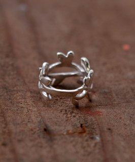 古着Silver Ring Grass | 蔦の葉モチーフ シルバーリング 古着のネット通販 古着屋グレープフルーツムーン