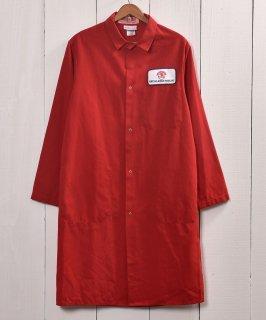 古着 Snap Button Corporate Logo Work Coat|企業ロゴ入りワークコート スナップボタン仕様 古着のネット通販 古着屋グレープフルーツムーン
