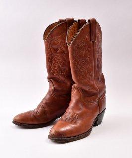 古着Western Boots| ウエスタンブーツ | ブラウン 古着のネット通販 古着屋グレープフルーツムーン