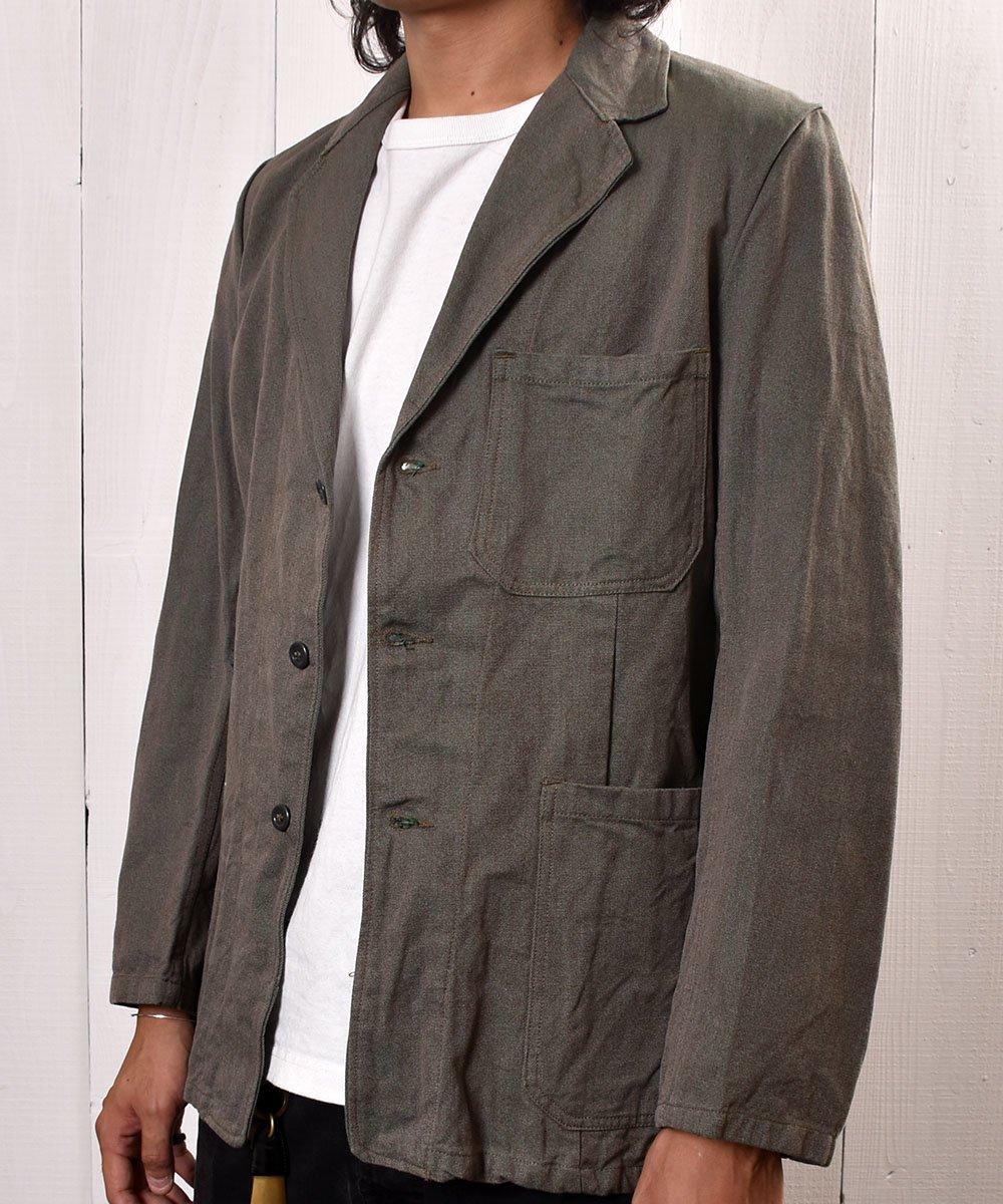 60's Euro Miritary  Prisonar Jacket   Swedish Army    60年代 スウェ−デン製 プリズナー ジャケット サムネイル