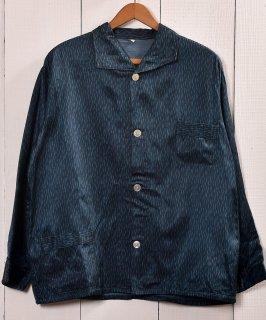 古着 <img class='new_mark_img1' src='https://img.shop-pro.jp/img/new/icons14.gif' style='border:none;display:inline;margin:0px;padding:0px;width:auto;' />Made in Europe Rainy Pattern Pajamas Shirt |ヨーロッパ製 レイニーパターン パジャマシャツ 古着のネット通販 古着屋グレープフルーツムーン