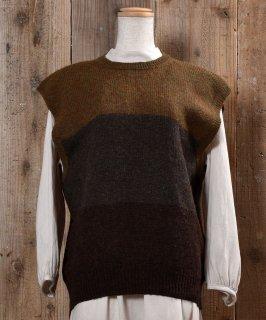 古着3Color Wool Knit Vest|3カラー ウール ニット ベスト 古着のネット通販 古着屋グレープフルーツムーン
