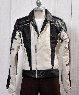 古着 <img class='new_mark_img1' src='https://img.shop-pro.jp/img/new/icons14.gif' style='border:none;display:inline;margin:0px;padding:0px;width:auto;' />Motorcycle Leather Jacket|ダブル ライダース ジャケット 古着のネット通販 古着屋グレープフルーツムーン