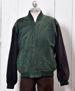古着 <img class='new_mark_img1' src='https://img.shop-pro.jp/img/new/icons14.gif' style='border:none;display:inline;margin:0px;padding:0px;width:auto;' />Leather Jacket Genuine Suede Blouson type|レザー ジャケット ブルゾンタイプ 本革 古着のネット通販 古着屋グレープフルーツムーン