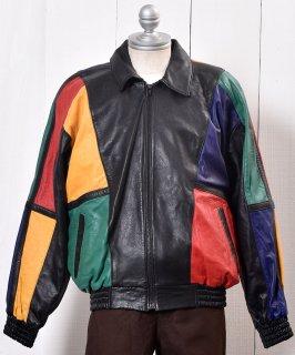 古着Leather Jacket Lamb Leather|レザー ジャケット 本革 ラム 古着のネット通販 古着屋グレープフルーツムーン