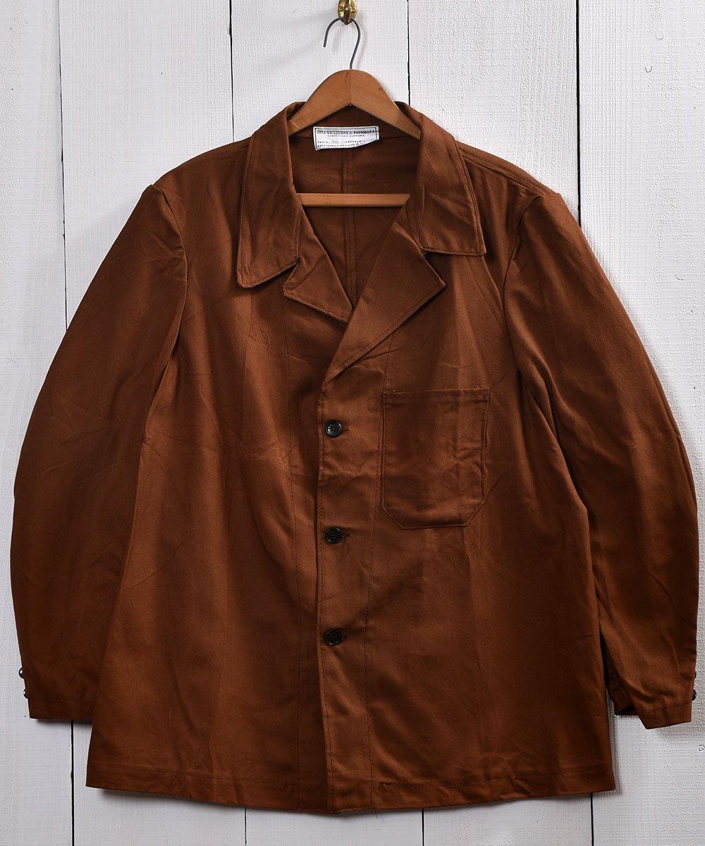 古着 Made in Italy Work Jacket | イタリア製  ワークジャケット サイズ54 古着 ネット 通販 古着屋グレープフルーツムーン