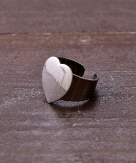 古着ハート シルバーカラーリング | Silver Color Ring Heart 古着のネット通販 古着屋グレープフルーツムーン