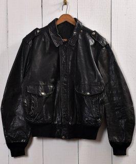 古着 Leather Jacket Blouson A-2 Type| レザー ジャケット ブルゾン型  古着のネット通販 古着屋グレープフルーツムーン