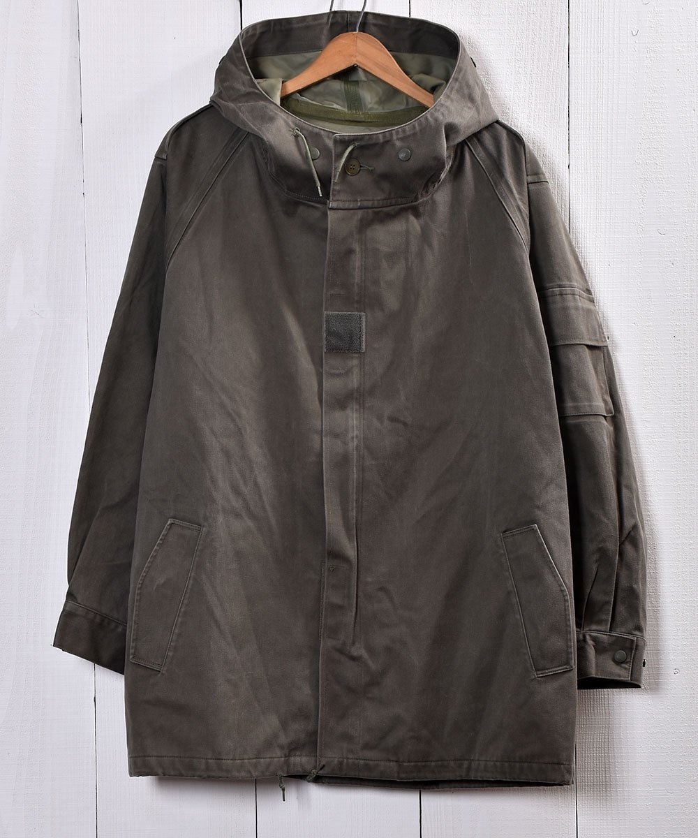 古着 1991年製 フランス軍 レインコート サイズ104L|French Army Rain Coat 古着 ネット 通販 古着屋グレープフルーツムーン