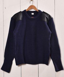 古着ミリタリー コマンドセーター  ネイビー | Miritary Commando Sweater Navy 古着のネット通販 古着屋グレープフルーツムーン