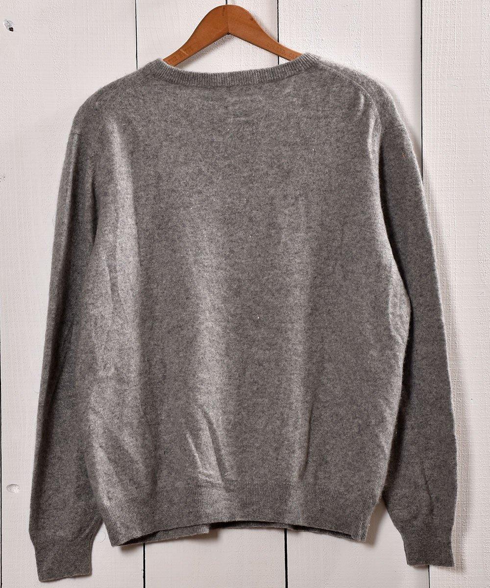 カシミア クルーネック セータ— グレー | Cashmere Crew Neck Sweater Grayサムネイル
