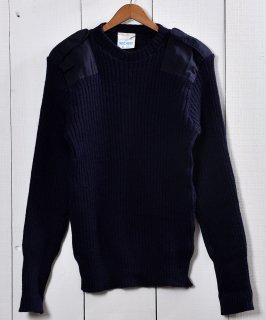古着コマンダーセーター クルーネックタイプ ネイビー|Commander Sweater Crewneck Type 古着のネット通販 古着屋グレープフルーツムーン