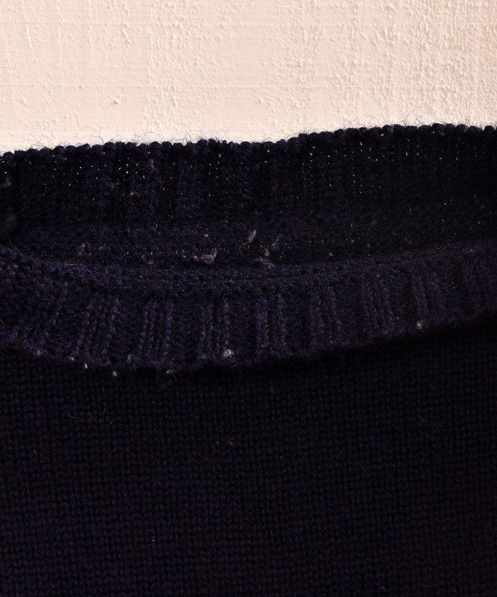 英国製ガーンジーセーター ピュアウール100%|Guernsey Garment Knit サムネイル