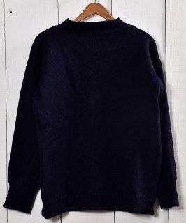 古着英国製ガーンジーセーター ピュアウール100%|Guernsey Garment Knit  古着のネット通販 古着屋グレープフルーツムーン