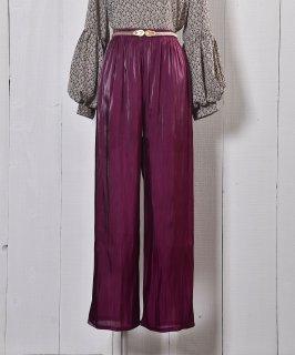 """古着""""Meridian"""" シアー ロングパンツ ピンク Long Pants Sheer Pink 古着のネット通販 古着屋グレープフルーツムーン"""