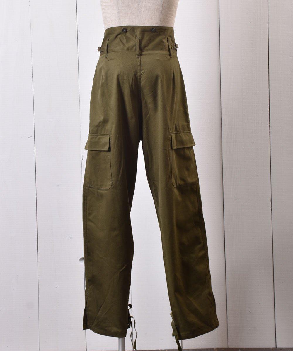 84年製 チェコ軍 ミリタリーカーゴパンツ W38|Czech Military Field Cargo Pants サムネイル