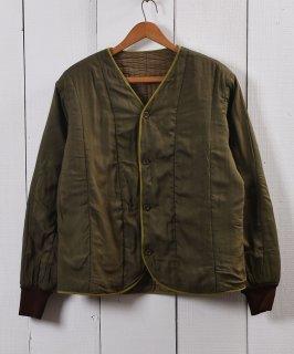 古着60年代 チェコ軍 キルティングライナー|60's Czech Army Quilting Liner 古着のネット通販 古着屋グレープフルーツムーン