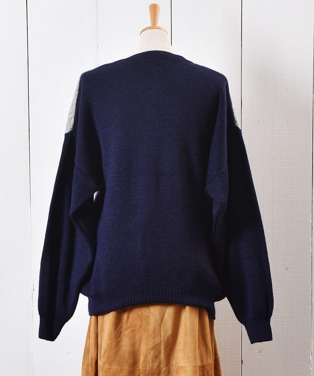 """ヨーロッパ製 ゴルフ パッチ セーター グレー """"Made in Europe"""" Play Golf Patch Sweater Grayサムネイル"""