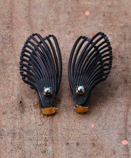古着羽 イヤリング| Wing Design Earrings 古着のネット通販 古着屋グレープフルーツムーン