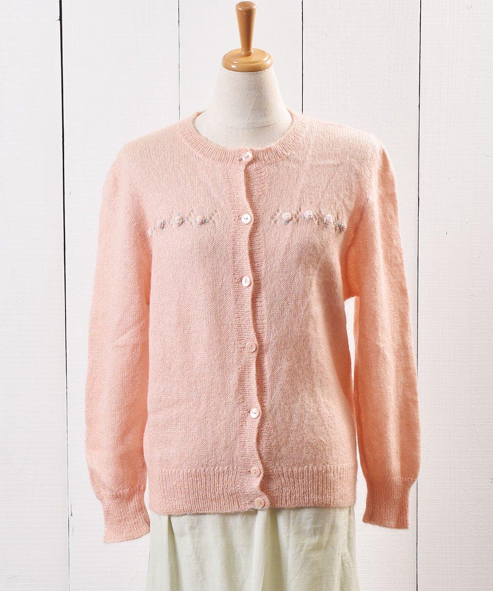 古着 マルチボーダー ニット カーディガン | Nordic Knit Cardigan Mulch Border 古着 ネット 通販 古着屋グレープフルーツムーン