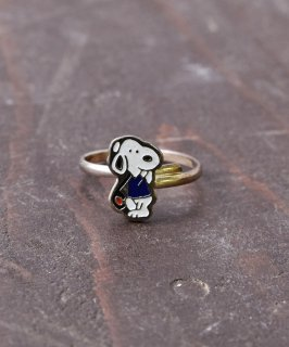 古着ヨーロッパ製 スヌーピー ゴールドカラーリング |Made in Europe Gold Color Ring Snoopy 古着のネット通販 古着屋グレープフルーツムーン
