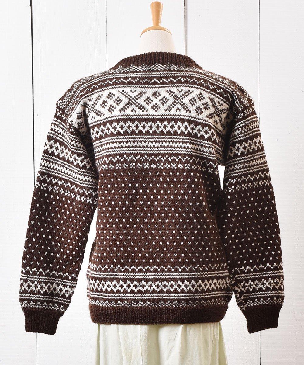 70〜80年代 ノルディック柄 カーディガン |70〜80s Nordic Pattern Cardigan サムネイル