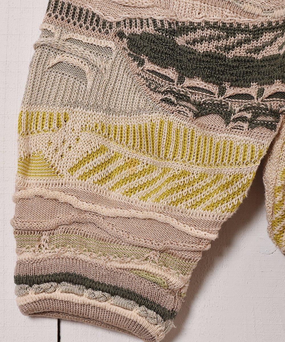 カナダ製 クージー風 コットン素材3Dニット|Made in Canada 3D Cotton Knitサムネイル