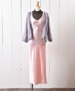 古着バッククロス ランジェリー ロング ドレス  Back Cross Long Lingerie Dress 古着のネット通販 古着屋グレープフルーツムーン