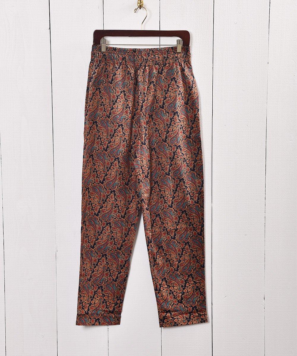 古着 コットンパンツ ペイズリー| Cotton Pants Paisley 古着 ネット 通販 古着屋グレープフルーツムーン