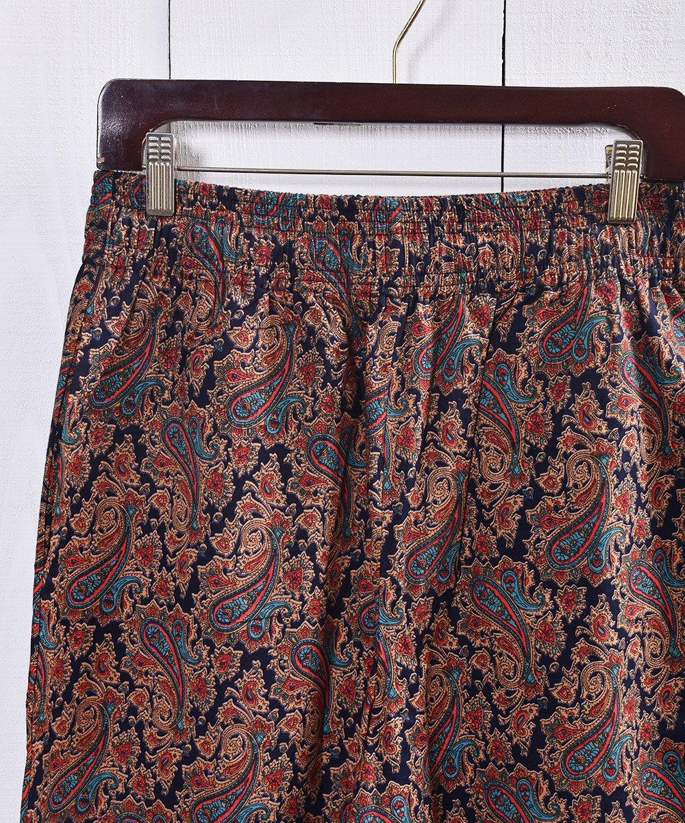 コットンパンツ ペイズリー| Cotton Pants Paisleyサムネイル