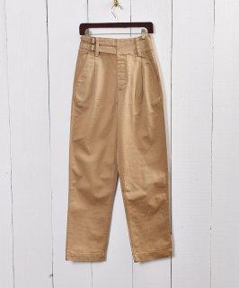 古着【2色展開】ロング グルカパンツ ベージュ|Long Gurka Pants Beige 古着のネット通販 古着屋グレープフルーツムーン