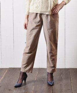 古着コーデュロイ イージーパンツ 無地 ベージュ|Easy Pants Plain Corduroy Beige 古着のネット通販 古着屋グレープフルーツムーン