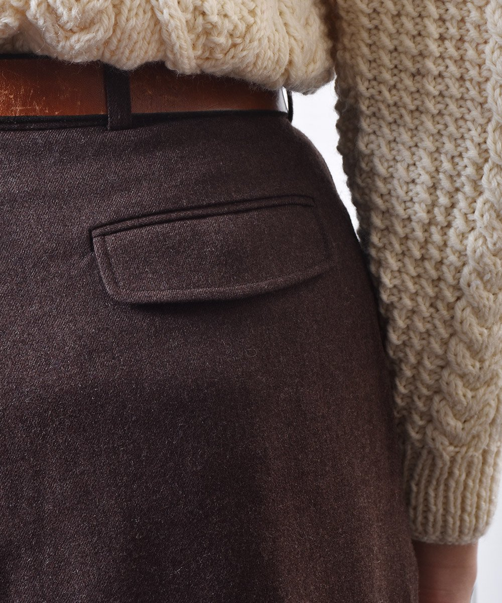 ウール タックパンツ|Wool Tuck Pantsサムネイル