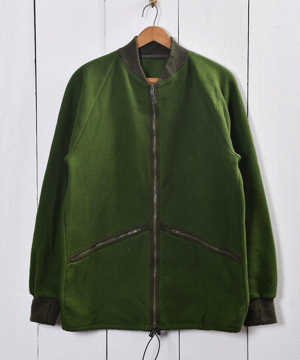古着 ヨーロッパ製 イギリス軍 ミリタリー フリースジャケット  Made in Europe Fleece Military Jacket UK Army 古着 ネット 通販 古着屋グレープフルーツムーン