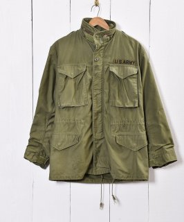 古着70年代〜 アメリカ軍 M-65 フィールドジャケット 3rdタイプ 古着のネット通販 古着屋グレープフルーツムーン