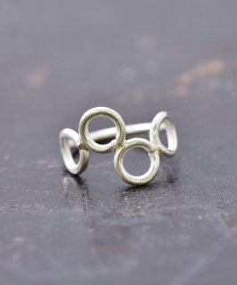 古着シルバーリング 4輪|Silver Ring KRN 4Circle 古着のネット通販 古着屋グレープフルーツムーン