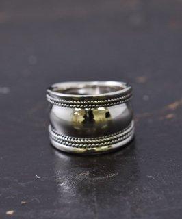 古着シルバーリング 甲冑|Silver Ring 13� Armet Puff Rope 古着のネット通販 古着屋グレープフルーツムーン
