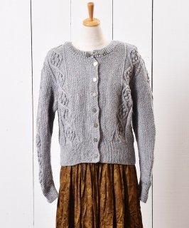 古着ヨーロッパ製 カラフルネップ チロリアン カーディガン  古着のネット通販 古着屋グレープフルーツムーン