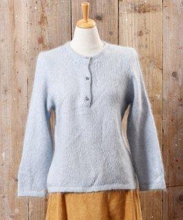 古着イタリア製 花刺繍 モヘアニット セーター 古着のネット通販 古着屋グレープフルーツムーン