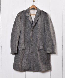 古着チロル ロング丈ウールコート ヨーロッパ製 シェトランドウール 古着のネット通販 古着屋グレープフルーツムーン