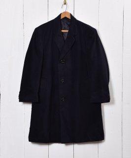 """古着イングランド製 ウールコート""""MoorBrook""""社製ファブリック 古着のネット通販 古着屋グレープフルーツムーン"""