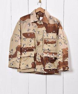 古着アメリカ軍 ミリタリージャケット チョコチップカモ  古着のネット通販 古着屋グレープフルーツムーン