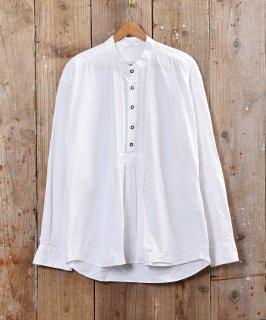 古着ヨーロッパ製 チロルシャツ ノーカラー タックシャツ 古着のネット通販 古着屋グレープフルーツムーン
